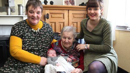 Flink viergeslacht bij familie Beernaert