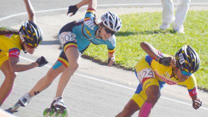 Sandrine Tas pakt twee Europese titels op de weg in het skeeleren