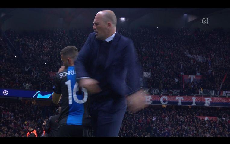 Hét moment van de wedstrijd: Diagne neemt de penalty af van Vanaken en mist, Clement is woest.