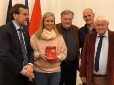 Ysaline Bonaventure faite citoyenne d'honneur de la Ville de Liège