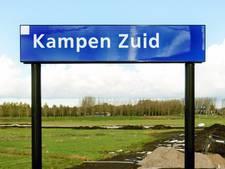 Waar moeten de winkelwagens staan bij nieuwe super in Kampen?