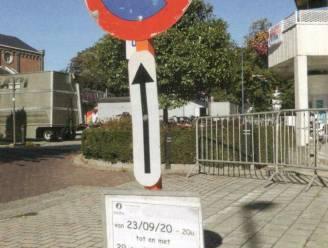 Voortaan niet meer naar de politie voor inname openbaar domein en parkeerverbod