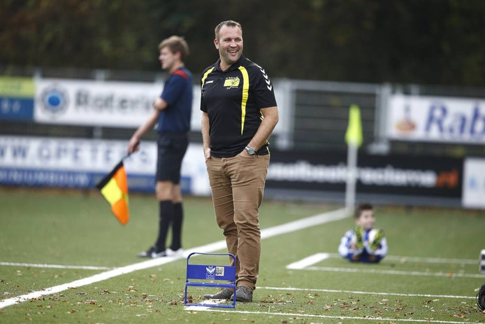 Mark Kuiperij, trainer van Terborg, begint met overwinning op Bredevoort. Archieffoto: Theo Kock