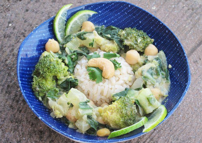 Thaise groene curry Beeld Pay-Uun Hiu