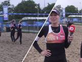 Om half 6 's ochtends begonnen: beachvolleyballers mogen weer