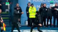 Klopp en Guardiola beëindigen discussie met vreemde high five