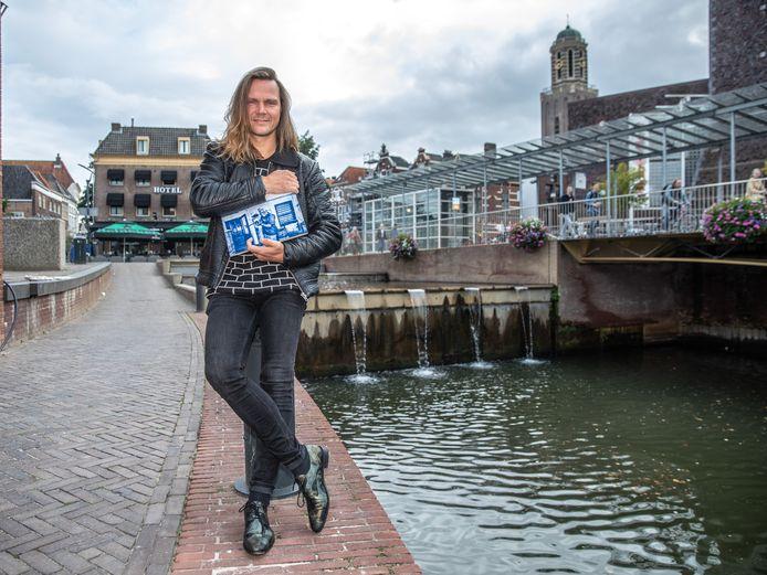 Stichting KRZ en kunstenaar Dennie Boxem willen graag een kunstwerk realiseren op de watertrap bij het Rodetorenplein. Het is nu wachten op toestemming van de gemeente, al zullen ook nog wat meer Zwollenaren moeten bijdragen.