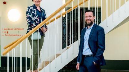 Truiense Wanda Guedens en Hasseltse Ken Haenen zijn de nieuwe vicerectoren van UHasselt