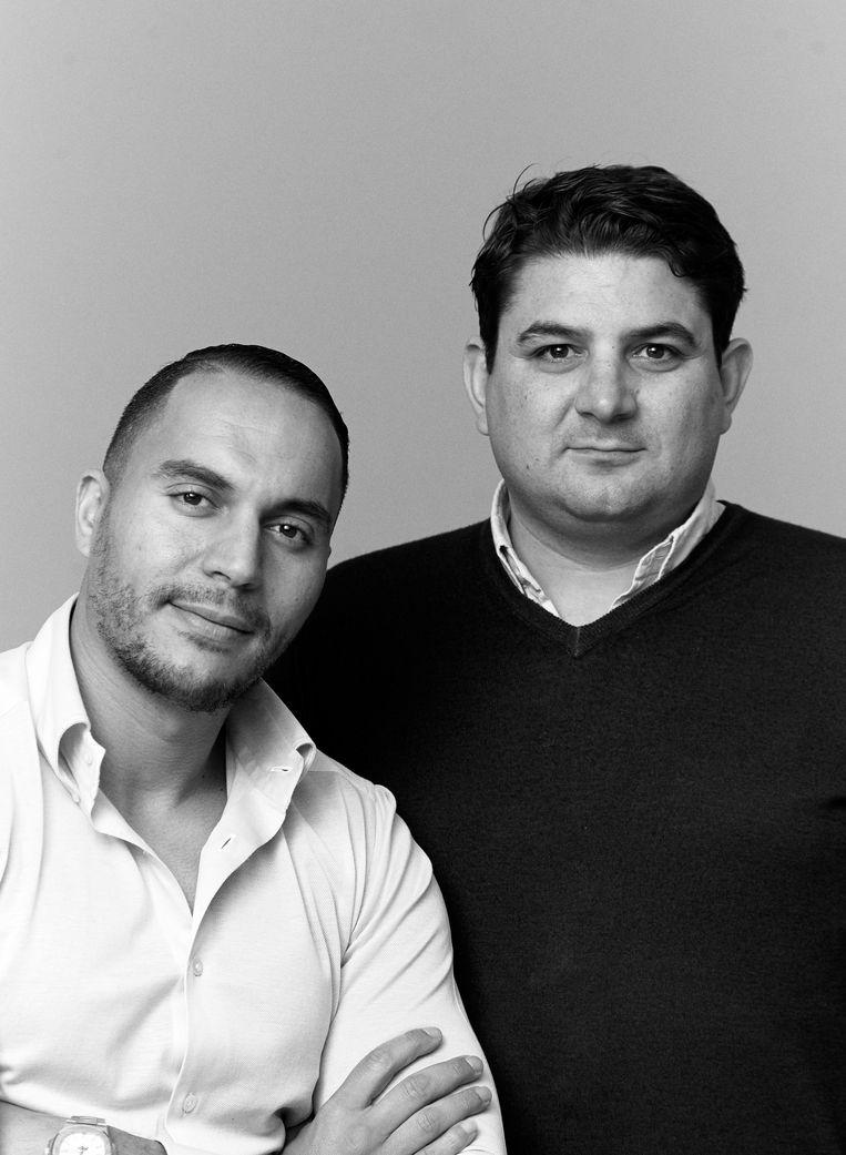 Ramzi Addarazzi (links) en Barry Broedersz. Beeld Casper Kofi