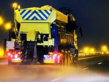 Gemeenten West Maas en Waal Afgelopen winter 'gemiddeld' zout gestrooid