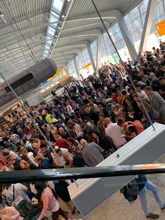 Bagagebanden kapot op Eindhoven Airport