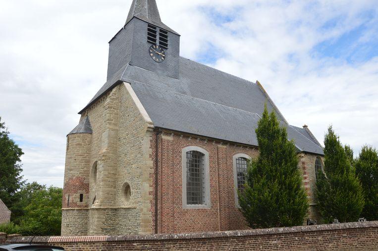 De kerk van Lieferinge