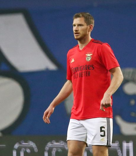 Jan Vertonghen parmi les cinq joueurs positifs au coronavirus à Benfica