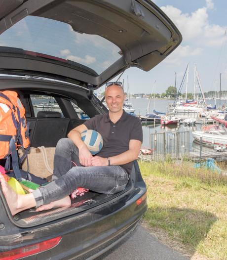 Perry Kentin had Zeeland bijna verlaten: 'Mijn zwemspullen liggen altijd op de achterbank'