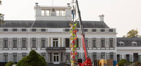 Hoe de toren die nu voor paleis Soestdijk staat straks langs festivals zou kunnen reizen