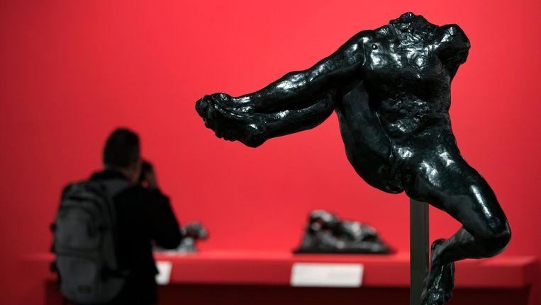 Een kunstwerk van Rodin. Beeld EPA
