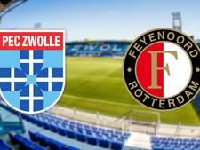 PEC kan bij overwinning Feyenoord naderen