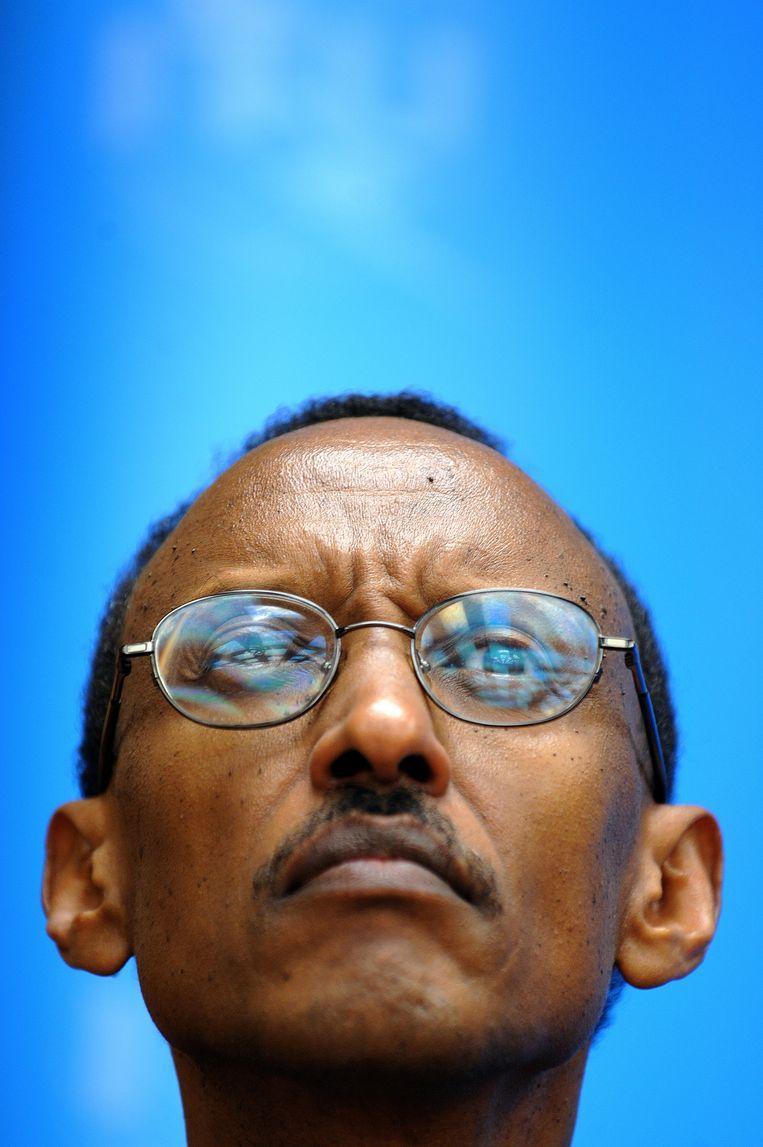 President Paul Kagame van Rwanda. Beeld AFP