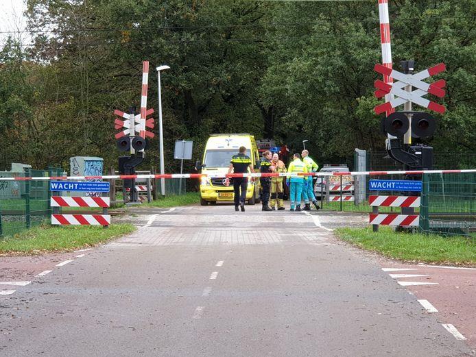 Het treinverkeer tussen Hengelo en Enschede is stilgelegd.
