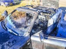 Weinig over van auto die in brand vliegt tijdens het rijden in Helmond