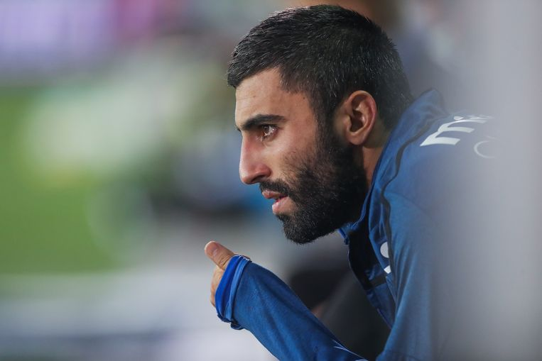 Club's Kaveh Rezaei pictured during the Jupiler Pro League match between Club Brugge and Sporting Lokeren, in Brugge, Friday 14 September 2018, on the seventh day of the Jupiler Pro League, the Belgian soccer championship season 2018-2019. BELGA PHOTO BRUNO FAHY