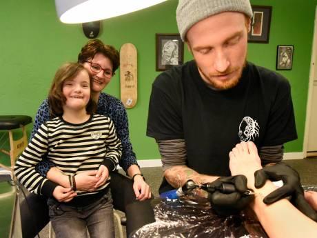 Tattoo voor geliefden met syndroom van Down