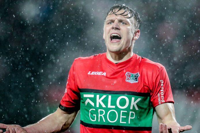 Josef Kvida als speler van NEC.