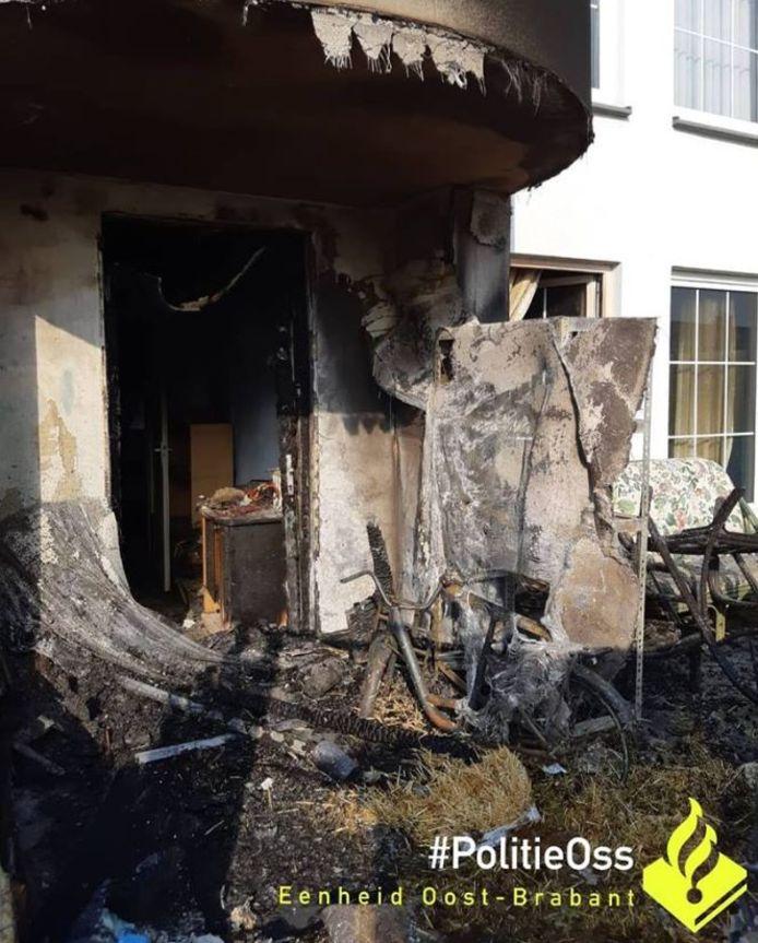 De schade na de eerste brandstichting was aanzienlijk.