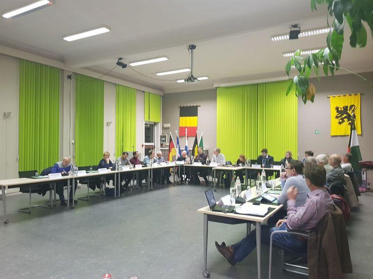 De gemeenteraad van Zelzate.