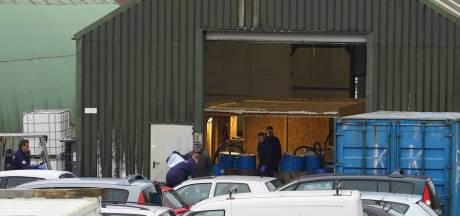 Amfetamine in drugslab Nieuwendijk, specialisten bezig met ontmantelen