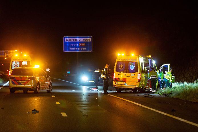 Ongeval op A27 ter hoogte van Bavel.