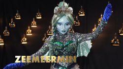 Verrassing! Maak kennis met Zeemeermin, het nieuwe personage uit 'The Masked Singer'