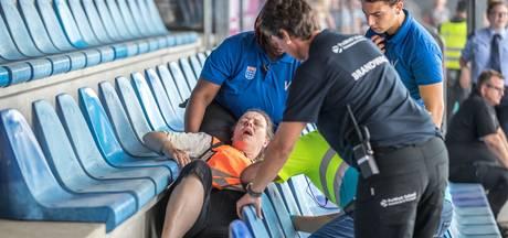 Paniek en chaos voor 700 figuranten na drone-aanslag in PEC-stadion