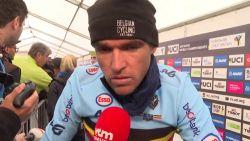 """Van Avermaet: """"Toen Van der Poel en co vertrokken, zat ik iets te ver"""""""