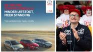 """Toyota prikt terug naar Weyts met paginagrote advertentie: """"De nieuwe Toyota Corolla. Minder uitstoot, meer standing"""""""