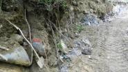 Werken aan asbeststorten gesaboteerd: politie houdt verscherpte controle