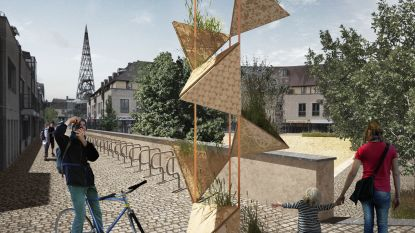 """Kunstwerken en betekenisvolle lijn verbinden Lommelse parken met elkaar: """"Om centrum levendig te houden, is meer nodig dan handel en horeca"""""""