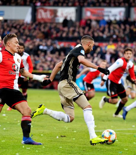 Feyenoord - Ajax zondagavond om acht uur?