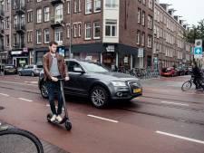 De illegale e-step rukt op in het straatbeeld