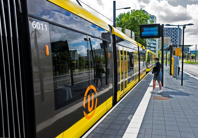 Slechts een enkele passagier maakt momenteel gebruik van de Uithoflijn.