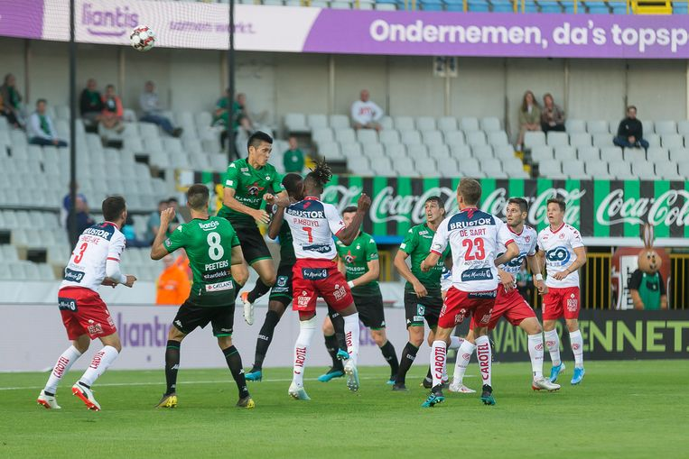 Illustration picture shows a soccer match between Cercle Brugge and KV Kortrijk, Saturday 10 August 2019 in Brugge, on the third day of the 'Jupiler Pro League' Belgian soccer championship season 2019-2020. BELGA PHOTO JAMES ARTHUR GEKIERE