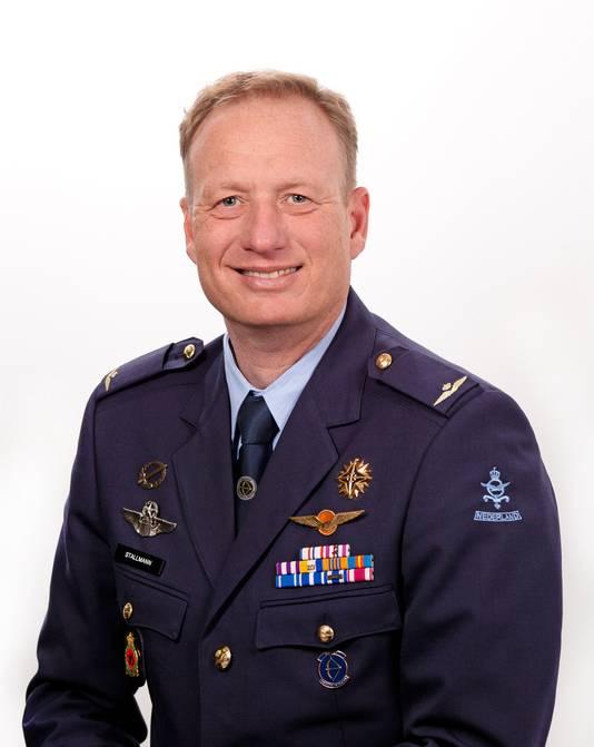 Commandant vliegbasis Leeuwarden Arnoud Stallmann
