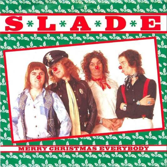Platenhoes van de grootste hit van Slade.