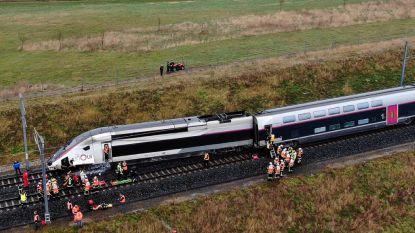 """Tgv-locomotief ontspoord bij Straatsburg: """"Machinist kritiek, 20 lichtgewonden"""""""
