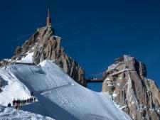 Franse Vallée Blanche is afdalen voor durfals