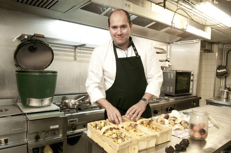 """Paul-Henri in zijn keuken: """"Blij met deze erkenning."""""""