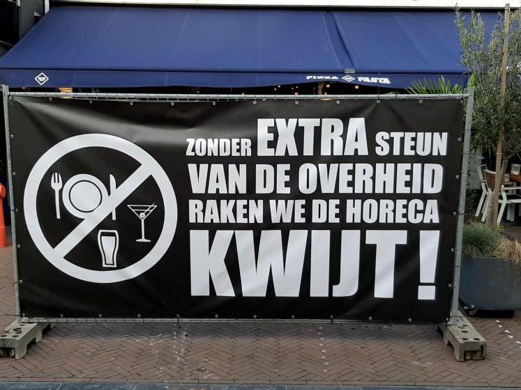 Horecaondernemers in Wijchen eisen steun van overheid