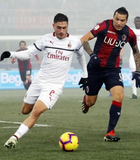 AC Milan niet voorbij laagvlieger Bologna