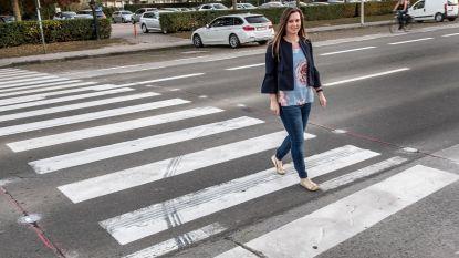 Drie jaar na ongeval ledlichtjes op zebrapad