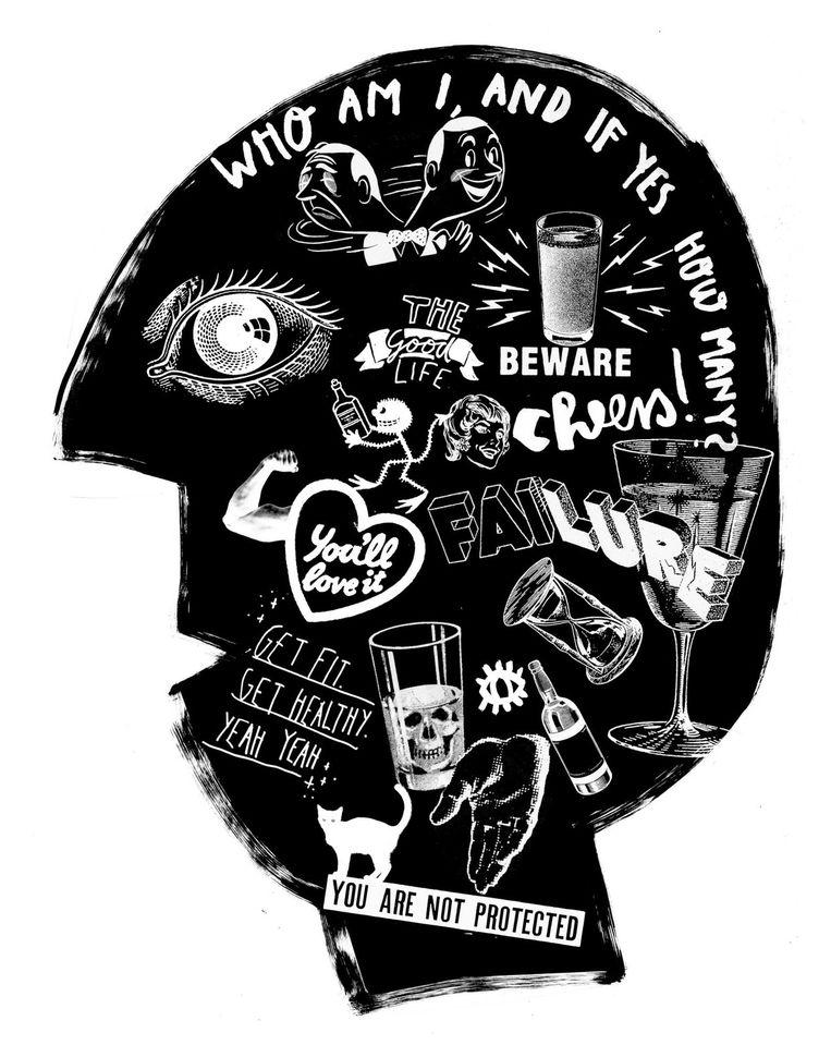 Alcohol in je hoofd Beeld null